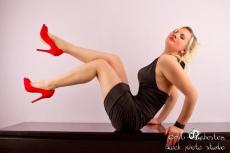Blonde in Heels