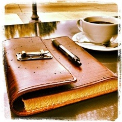 Notebookandcoffee